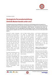 Strategische Personalentwicklung - SCOPAR Scientific Consulting ...