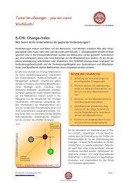 Change-Index - SCOPAR - Scientific Consulting Partners
