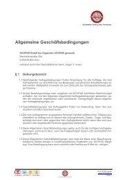 AGBs - SCOPAR - Scientific Consulting Partners