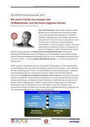 SCOPAR – Zukunftsstudie - SCOPAR Scientific Consulting Partners