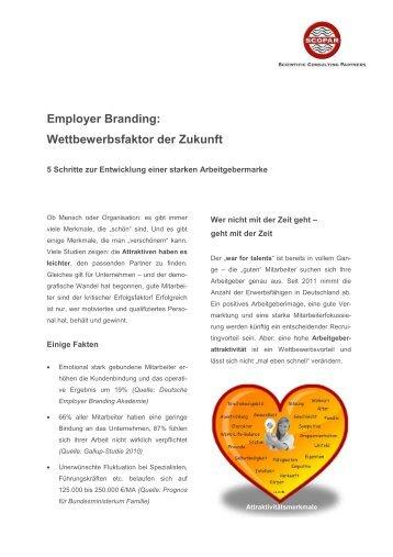 Artikel zum Employer Branding - SCOPAR Scientific Consulting ...