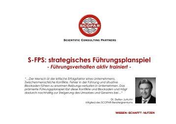 S-FPS: strategisches Führungsplanspiel - SCOPAR - Scientific ...