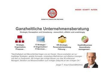 Ganzheitliche Unternehmensberatung - Profil - SCOPAR Scientific ...