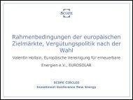 eurosolar - Scope