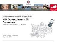 hih global invest 05 - österreich - Scope