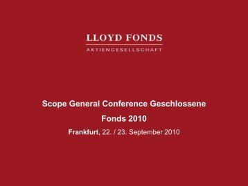 Investitionsvolumen - Scope
