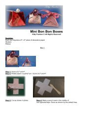 Mini Bon Bon Boxes - Scor-Pal!