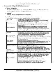 Baustein 12 – Beispiele BETA-Unternehmen