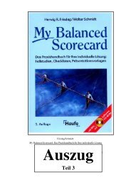 Teil 3 - Forum Balanced Scorecard