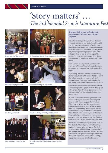 Part 2 - Scotch College