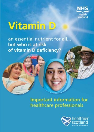 Vitamin D - Scottish Government