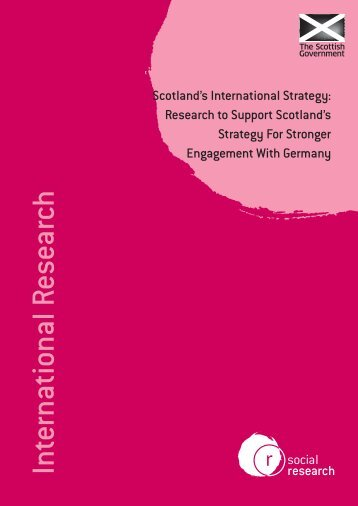 Scotland's International Strategy - Scottish Government