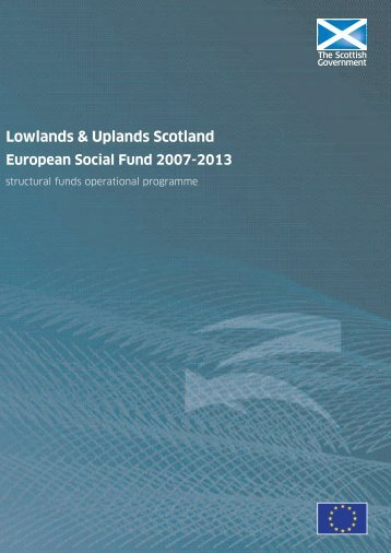 Lowlands and Uplands Scotland - Scottish Government