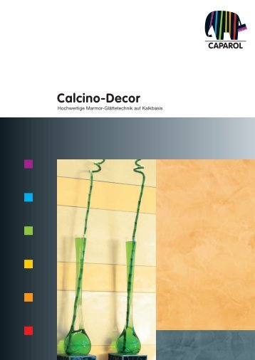 Calcino-Decor - Deutsche Amphibolin Werke - Caparol
