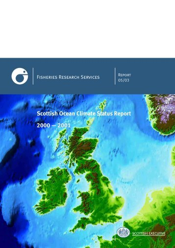 Scottish Ocean Climate Status Report 2000-2001
