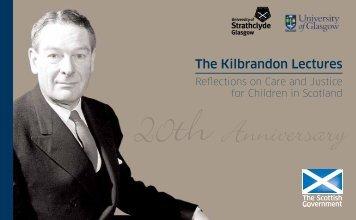 The Kilbrandon Lectures - Scottish Government