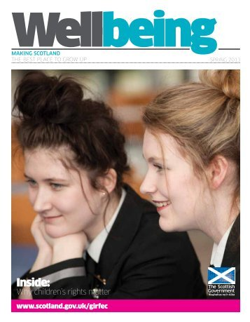 Download the first issue of Wellbeing - March 2013 - Scottish ...