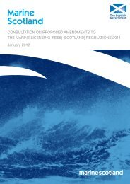 Consultation On Proposed Amendments To The Marine Licensing ...