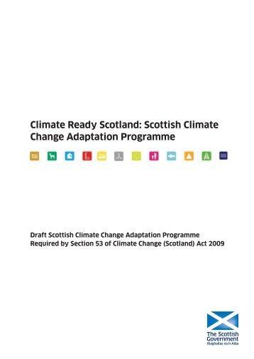 Climate Change Adaptation Programme - Scottish Government