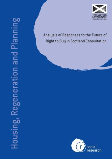 Social Research: Analysis Of Responses To The Future Of ... - TPAS