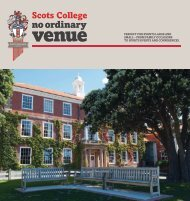 Read the Brochure - Scots College