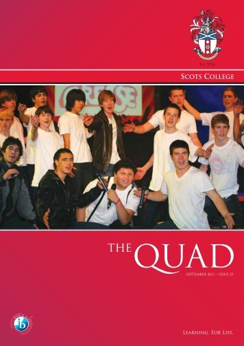 Issue 27 - Sept 2011 - Scots College