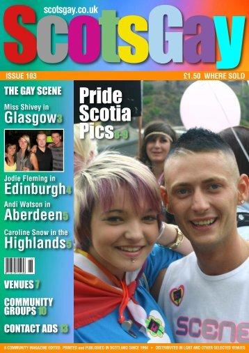 ScotsGay 103 - ScotsGay Magazine