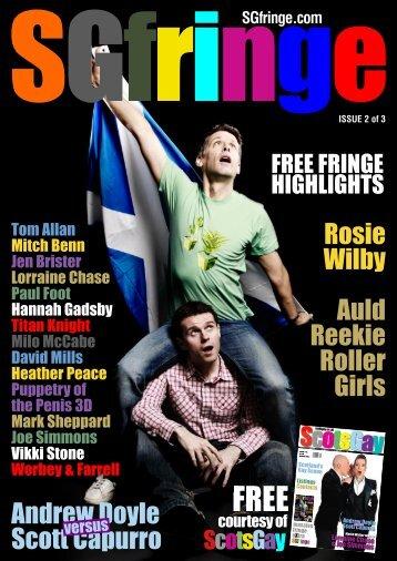 SGfringe.com - ScotsGay Magazine