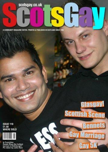 ScotsGay Issue 118 - ScotsGay Magazine