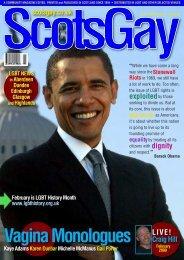 ScotsGay Issue 86 - ScotsGay Magazine