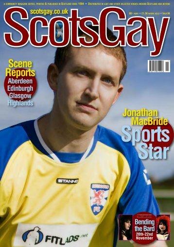 Scene Reports Jonathan MacBride - ScotsGay Magazine