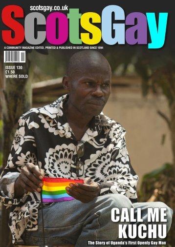 ScotsGay Issue 130 - ScotsGay Magazine
