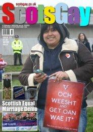 ScotsGay Issue 123 - ScotsGay Magazine