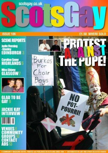 ScotsGay Issue 106 - ScotsGay Magazine