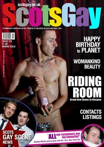 ScotsGay Issue 125 - ScotsGay Magazine