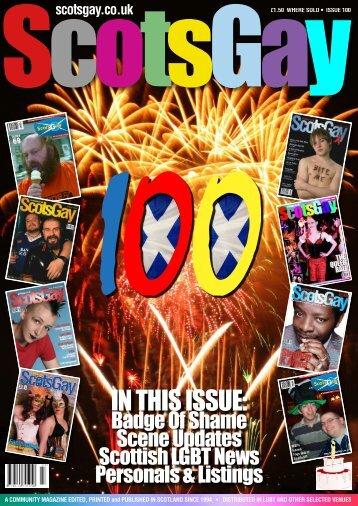 ScotsGay 100 - ScotsGay Magazine