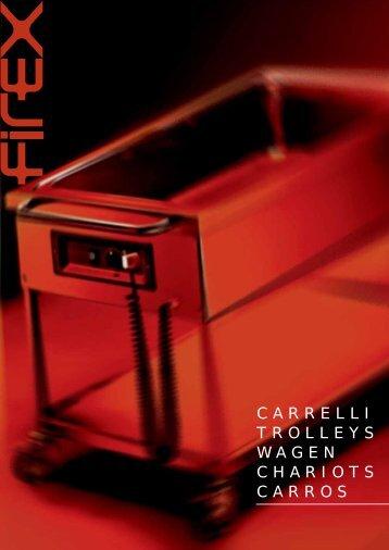 CARRELLI TROLLEYS WAGEN CHARIOTS CARROS - Santos Innova