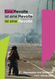 Eine Revolte ist eine Revolte ist eine Revolte - Rote Hilfe Greifswald