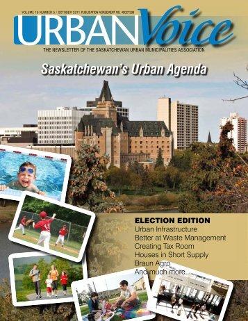 the newsletter of the saskatchewan urban municipalities