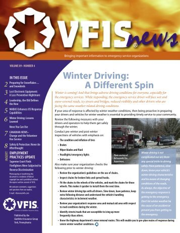 Winter Issue - VFIS News Vol. 09 No. 04