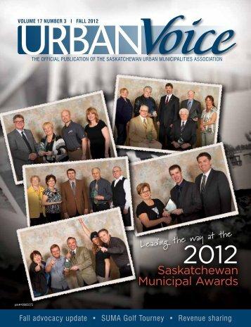 Saskatchewan Municipal Awards - Saskatchewan Urban ...
