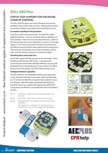 ZOLL AED Plus - Amtech