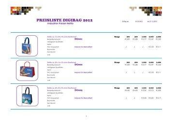PREISLISTE DIGIBAG 2012 - Appel-Team