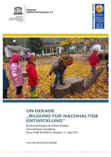 Download - Bildung für nachhaltige Entwicklung