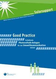 Good Practice - Bildung für nachhaltige Entwicklung