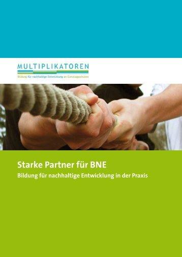 Starke Partner für BNE - Bildung für nachhaltige Entwicklung