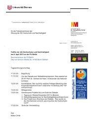 Protokoll der Sitzung vom 08.04.2013