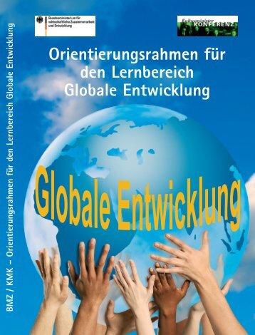 Orientierungsrahmen für den Lernbereich Globale ... - Globo:log