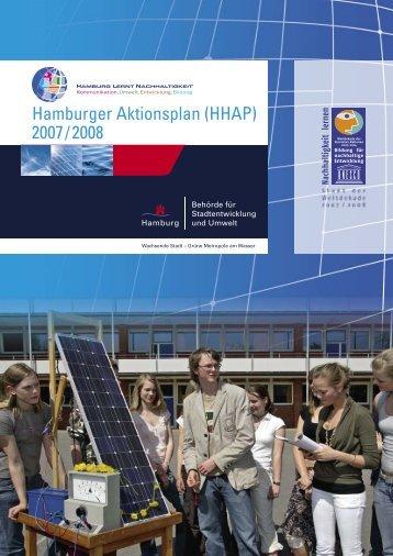 Hamburger Aktionsplan (HHAP) 2007/2008 - Bildung für ...