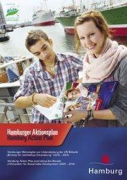 Hamburger Aktionsplan 2010/2011 - Gemeinsam einfach machen